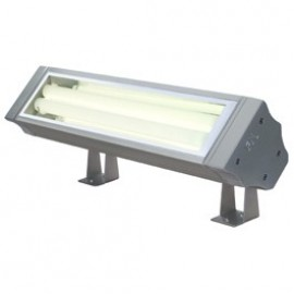Vano TC Outdoor Ceiling, Wall & Floor Floodlight Silver Grey 229405