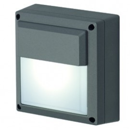 SLV Lighting WL 172 GX53 Outdoor Wall Light Silver Grey Or Anthacite 229904