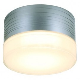 SLV MICRO FLAT wall and ceilinglight, round, silver-grey,GX53 , max. 9W, frosted glass 229912