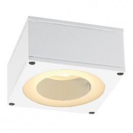 SLV Lighting Big Theo Ceiling GX53 Outdoor Ceiling Light White 229981