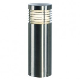Vap Slim 30cm / 60cm / 90cm Outdoor Bollard Light Brushed Stainless Steel 230063