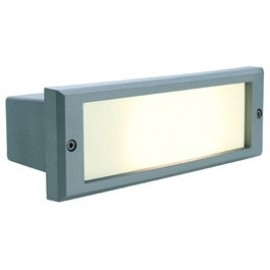SLV Lighting Alda Outdoor Wall Light Stone Grey 230415