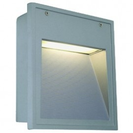 Downunder Out TC-D Outdoor Wall Light Silver Grey 230424