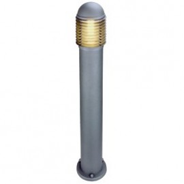 SLV Lighting Otos Outdoor Bollard Light Silver Grey Or Anthacite 230454
