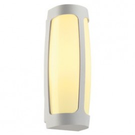 SLV Lighting Meridian 3 Outdoor Ceiling & Wall Light White 230641