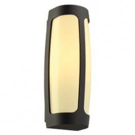 SLV Lighting Meridian 3 Outdoor Ceiling & Wall Light Anthracite 230645