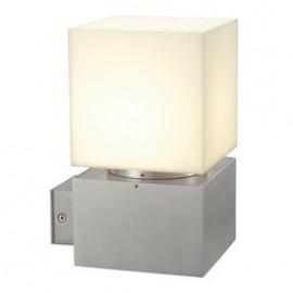 SLV Lighting quare WL Outdoor Wall Light Brushed Aluminium 230706