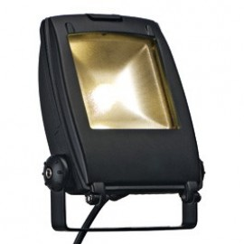 LED Flood Light 10w Warm White Outdoor Ceiling, Wall & Floor Light Black 231152