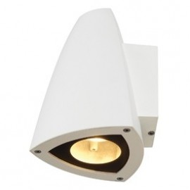 Cone GU10 Wall Light White 231701