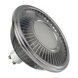 SLV 570712 LED ES111 Lamp 15.5W 2700K Silver Grey