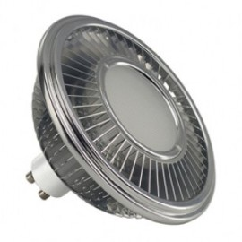 SLV Lighting 570712 LED ES111 Lamp 15.5W 2700K Silver Grey