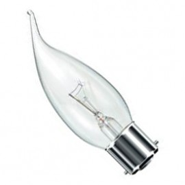 BC B22 60W Candelux Lamp Clear Pack Of 10 CANDELUXBC60