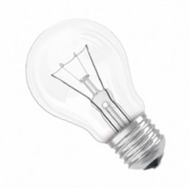 ES E27 40W GLS Lamp Clear Pack Of 10 GLSES40