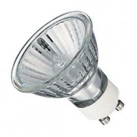GU10 35W 50 Degree Warm White Halogen Lamp Pack Of 10 GU1035HLW