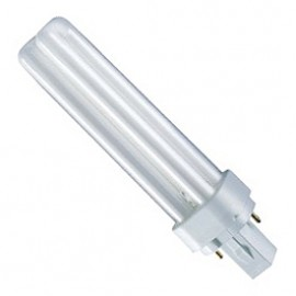 TC-D G24d-2 18W Cool White Compact Fluorescent Lamp TCD18CFC