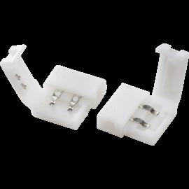 Knightsbridge CON2P 12V / 24V LED Flex Connector - Pack of 2 - Single Colour
