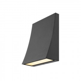 SLV Lighting 230795 DELWA WIDE wall light, anthracite, 8,5W LED, 3000K, IP44