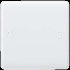 Knightsbridge CU8350 Curved Edge 1G Blanking Plate