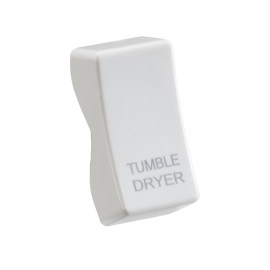 "Knightsbridge CUDRY Rocker cover printed ""TUMBLE DRYER"""