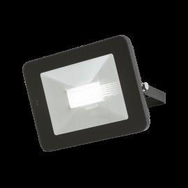 Knightsbridge FLF50M 230V IP65 50W LED Black Die-Cast Aluminium Floodlight with Microwave Sensor 4000K