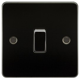 Knightsbridge FP1200GM 10A 1G Intermediate Switch Gunmetal