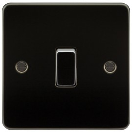 Knightsbridge FP2000GM 10A 1G 2 Way Switch Gunmetal