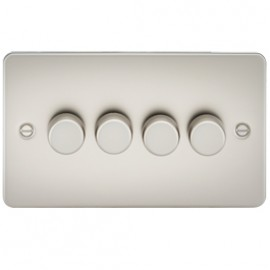 Knightsbridge FP2164PL 4G 2 Way Dimmer 400W Pearl