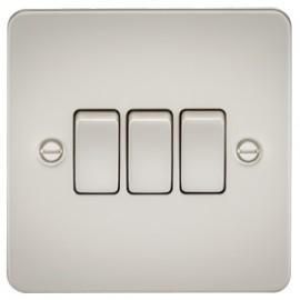 Knightsbridge FP4000PL 10A 3G 2 Way Switch Pearl