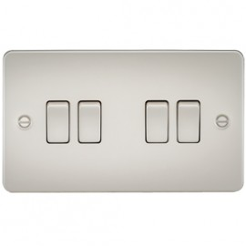 Knightsbridge FP4100PL 10A 4G 2 Way Switch Pearl