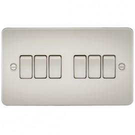 Knightsbridge FP4200PL 10A 6G 2 Way Switch Pearl