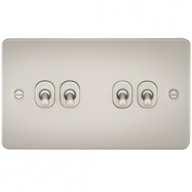 Knightsbridge FP4TOGPL 10A 4G 2 Way Toggle Switch Pearl