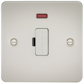 Knightsbridge FP6000NPL 13A 1G Fused Spur Unit With Neon Pearl