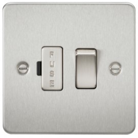 Knightsbridge FP6300BC 13A 1G Switched Fused Spur Unit Brushed Chrome