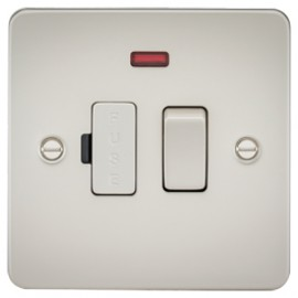 Knightsbridge FP6300NPL 13A 1G Switched Fused Spur Unit With Neon Pearl