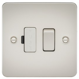 Knightsbridge FP6300PL 13A 1G Switched Fused Spur Unit Pearl