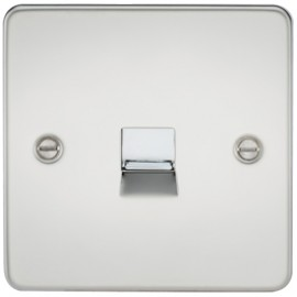 Knightsbridge FP7300PC 1G Telephone Master Socket Polished Chrome