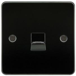 Knightsbridge FP7400GM 1G Telephone Extension Socket Gunmetal