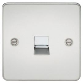 Knightsbridge FP7400PC 1G Telephone Extension Socket Polished Chrome