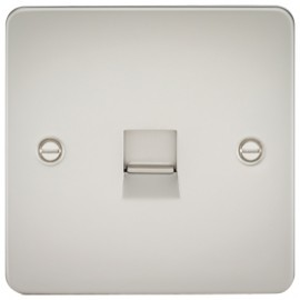 Knightsbridge FP7400PL 1G Telephone Extension Socket Pearl
