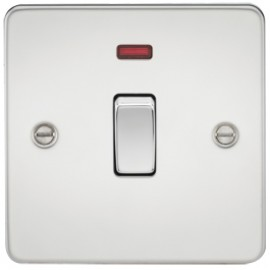 Knightsbridge FP8341NPC 20A 1G DP Switch With Neon Polished Chrome
