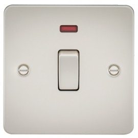 Knightsbridge FP8341NPL 20A 1G DP Switch With Neon Pearl