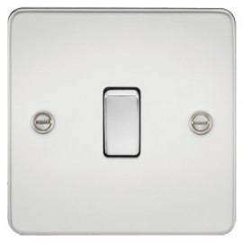 Knightsbridge FP8341PC 20A 1G DP Switch Polished Chrome