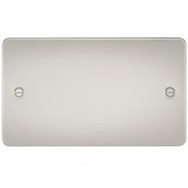 Knightsbridge FP8360PL 2G Blanking Plate Pearl