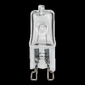 Knightsbridge G9-25W 240V G9 25W Capsule Lamp Clear Glass Warm White 3000K