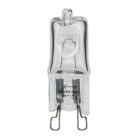 Knightsbridge G918W 240V G9 18W Double Fused Tungsten Halogen Energy Saver Lamp (Replaces 25W)
