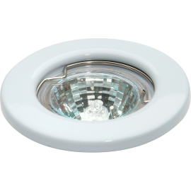 Knightsbridge L01W IP20 12V 35W max. L/V White Downlight 35mm