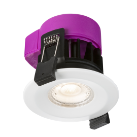 Knightsbridge RW6WW 230V IP65 6W Fire-rated LED Dimmable Downlight 3000K