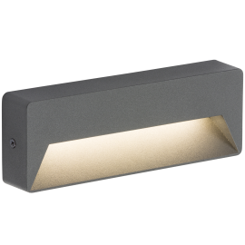 Knightsbridge RWL5A 230V IP54 5W LED Guide Light - Anthracite