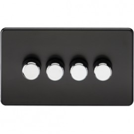 Knightsbridge SF2164MB 4G 2 Way Dimmer 400W Matt Black