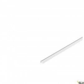 SLV 1000461 GRAZIA 10 LED Surface profile, flat, grooved, 2m, white